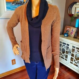 Mossimo Supply Co. tan knit cardigan
